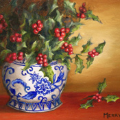 Chinoiserie Holly