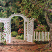 The Garden Gate at Bulloch Hall